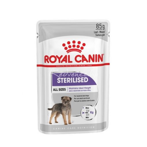 Royal Canin CCN STERILISED 85g Nedves Kutyaeledel