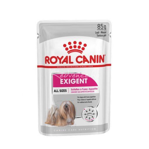Royal Canin CCN EXIGENT 85g Nedves Kutyaeledel