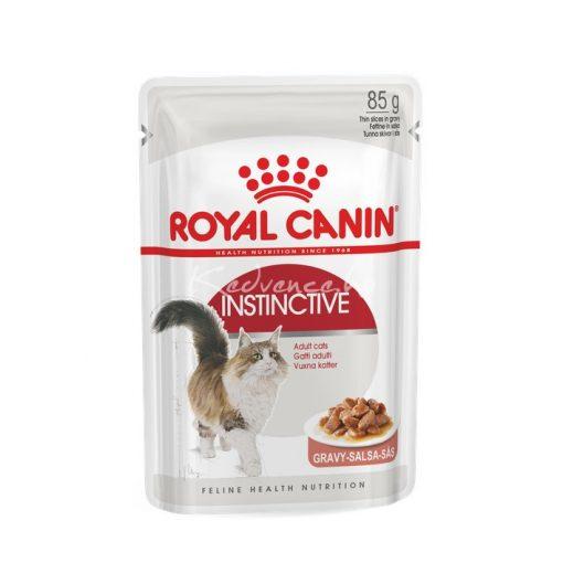 Royal Canin FHN INSTINCTIVE GRAVY 85g Nedves Macskaeledel