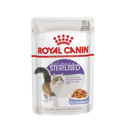 Royal Canin FHN STERILISED JELLY 85g Nedves Macskaeledel