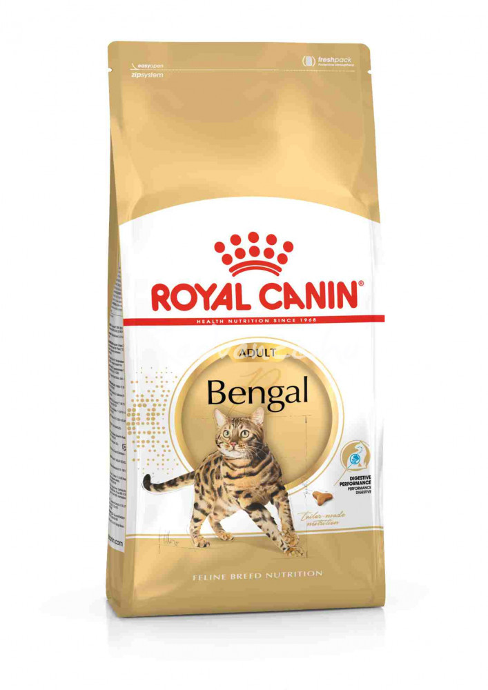 Royal Canin BENGAL ADULT FBN 10 kg Száraz Macskaeledel