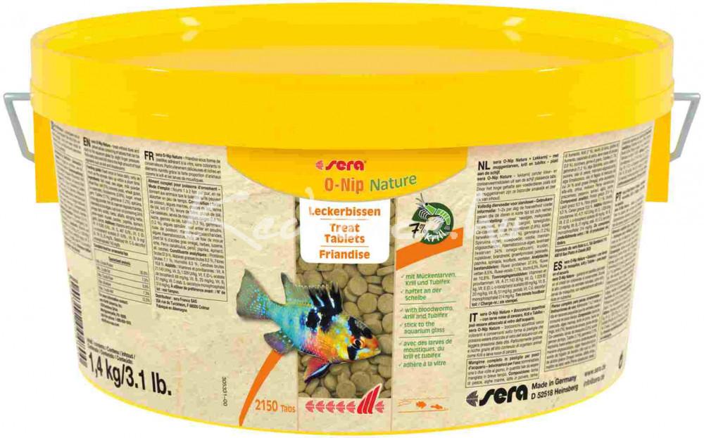 Sera O-Nip Nature Tablettás Díszhal eledel 2000 ml / 2150 tabl.