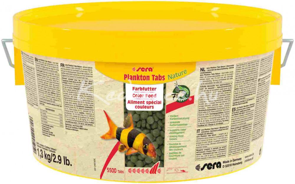 Sera Plankton Tabs Tablettás Díszhal eledel 2000 ml / 5500 tabl.