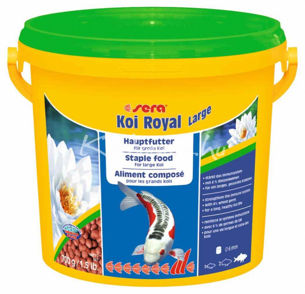 Sera Koi Royal HF Large Tavi Haltáp 3800 ml