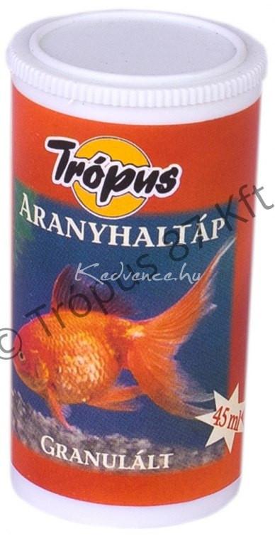 Trópus Aranyhal Eledel Granulátum 45 ml